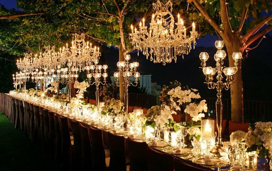 Outdoor Wedding Lighting Ideas From Real Celebrations: 5 Ways To Light Up Your Outdoor Wedding
