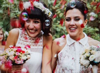Thumbnail image for I now pronounce you wife and wife. #fridayweddingfeels