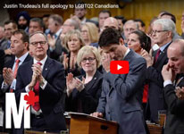 Thumbnail image for Justin Trudeau's full apology to LGBTQ2 Canadians